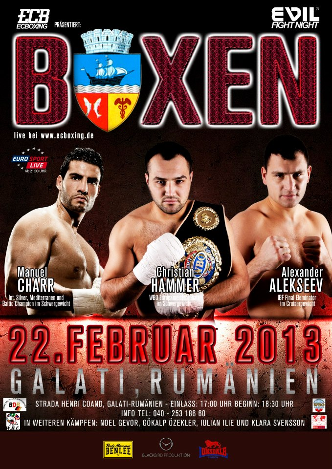 Manuel Charr fighting in Romania at 22.02.2013 (2/2)