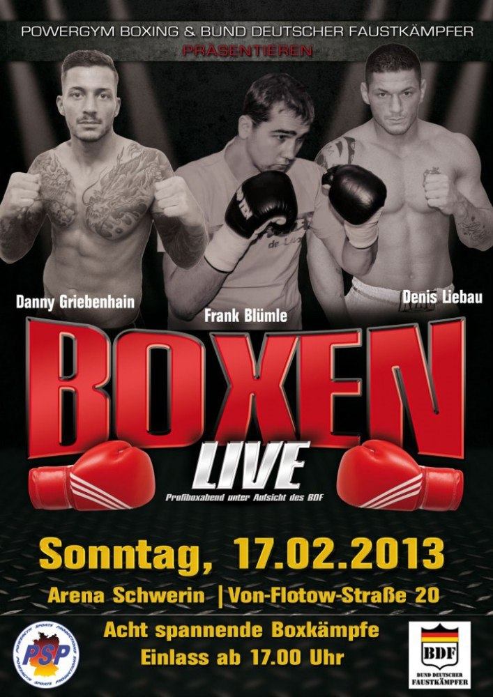 Boxen in Schwerin 17.02.2013