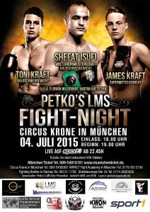 plakat final 04.07.2015 - Circus Krone München
