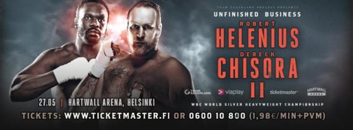 Helenius v Chisora !!