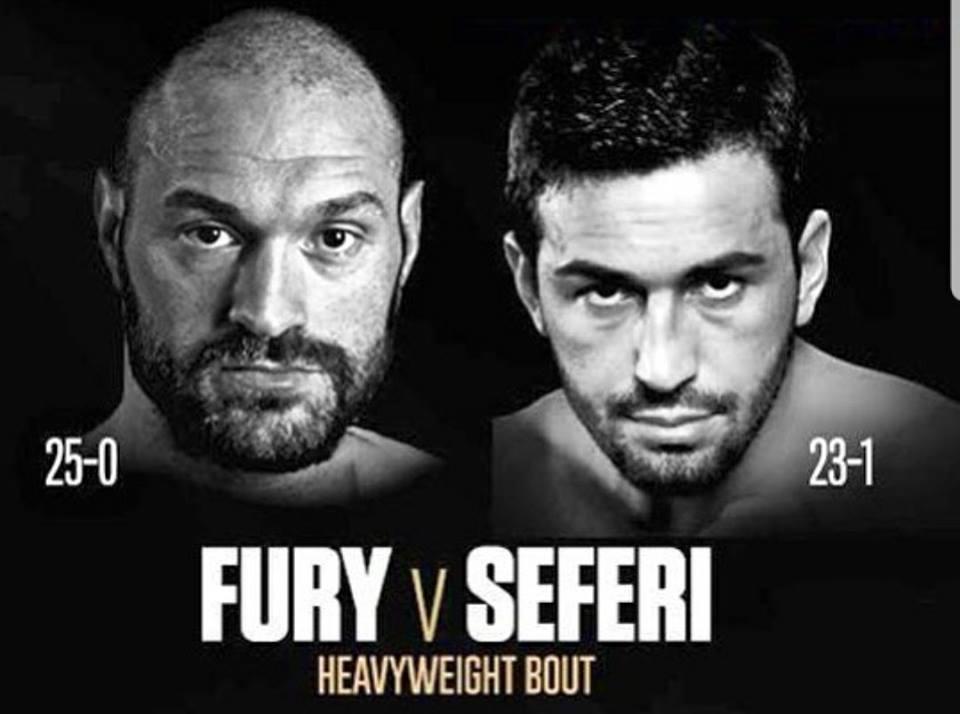 Fury v Seferi