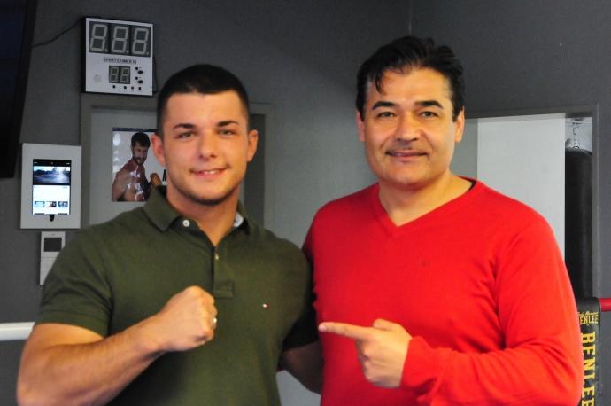 Dimitar Tilev und Erol Ceylan