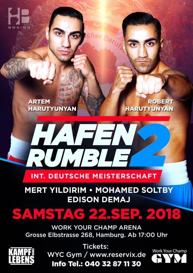 Hafen Rumble2 am 22.9.2018