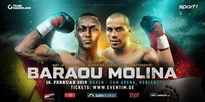 Baraou vs Molina